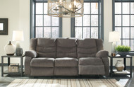 Tulen Gray Reclining Sofa