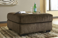 Accrington Earth Oversized Accent Ottoman