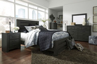 Brinxton Black 6 Pc. Queen Poster Bedroom Collection