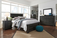 Brinxton Black 5 Pc. Queen Poster Bedroom Collection