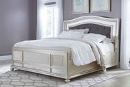 Coralayne California King Upholstered Panel Bed