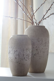 Dimitra Brown/Cream Vase Set (2/CN)