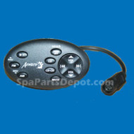 Master Spas Aeware Gecko Audio Stereo Keypad With Spacer TSC-55 - X551127