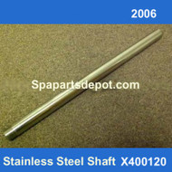 Master Spas 2006 Stainless Steel Shaft X400120