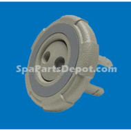 """Cal Spa Insert Double Hole Pulsator W/Ring Face  3"""""""
