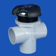 "Coast Spa, 3-LVR T/A 2"" Diverter Valve W/MTL"