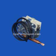"""HydroQuip Thermostat, 250V, 25A, 5/16 Bulb, 24"""" CAP, Part # 34-0030"""