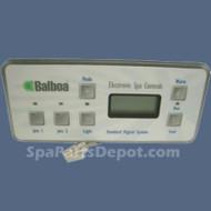 Balboa Serial Standard Digital Control Panel (2 Pumps, No BLWR, Lite) - 51247
