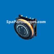 TIME CLOCK DIEHL 120V , 24 HOUR, 4 LUG / TA4071