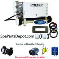"HydroQuip / Balboa Spa Hot Tub Control P1, Bl, Oz, Lt, 5.5kW ""SLIDE"" - CS6209B-US"