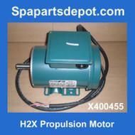 Master Spas H2X 2HP, 35W831Y Propulsion Motor X400455