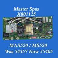 MAS520 / MS520 Master Spas PC Board X801125