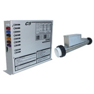 CONTROL: C5R 240V W/4.0KW REMOTE HEATER, TOPSIDE & CORDS