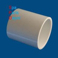 "PVC COUPLING:2"" S X S"
