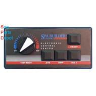 4 Button EP-1200/4 9 pin plug & 6ft cord