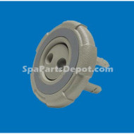 """Cal Spa Insert Double Hole Pulsator W/Ring Face  (2-5/8"""")"""
