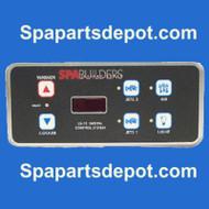 SPA BUILDERS TOPSIDE: LX-15 6BTN 6' ALPHA REV 5.31 3-00-0140