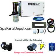 "HydroQuip / Balboa Spa Hot Tub Control P1, Bl, Oz, Lt, 5.5kW ""SLIDE"" - CS4209B-US"