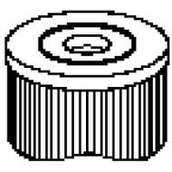 """FC2315 - O. D. 2 7/8"""" x Length 9 3/4"""" - 6 Sq Ft"""