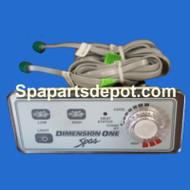 Dimension One 3 Button Analog Duplex Topside Control - 51221