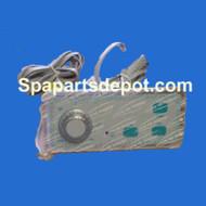 Master Spas 3 Button Topside Control Panel, MAS100 - X310300