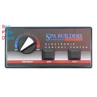 2 Button EP-1200/2 9 pin plug & 6ft cord