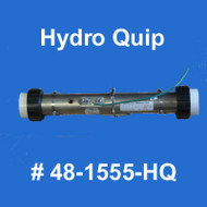 "Hydro Quip 5.5kW 15"" X 2.25"" Universal Replacement Heater 48-1555-HQ"
