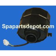 HYDRO QUIP AIR Blower 1.0HP 2.4 AMP 240V  W/AMP PLUG SILENT SERIES - 994-55102-7A-S