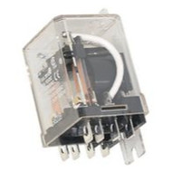 Electromechanical Relay DPDT 13ADC/25AAC 120VAC Flange Mount, Part # R55-11A20-120F