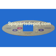 Marquis Spa Topside Overlay  6 Button [650-0520]