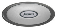 Jacuzzi Pillow, Oval Outer Pillow With Insert, J-300 Dark Gray