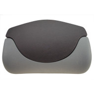 Coleman Spa Pillow, Lounge Two Piece, Black / Gray