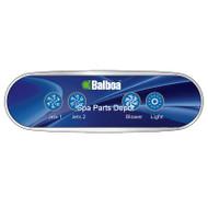 Balboa Control Panel, Auxiliary, 4 Button, AX40