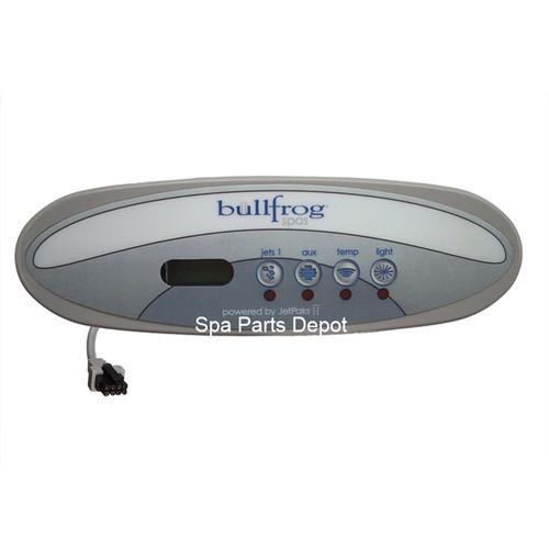 Bullfrog Spa Control Panel Tadpole 4 Button Spa Parts Depot