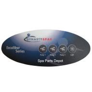 Dynasty Spa Overlay, Auxiliary 4 Button