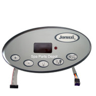 Jacuzzi Spas Control Panel, J300 LED 1 Pump, Ribbon Cable