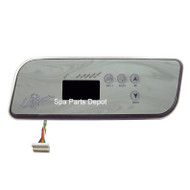 LA Spa Control Panel, 4 Button, 1 Pump