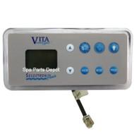 Vita Spa Control Panel, 8 Button, L500/LC500