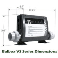 Balboa Spa Control BP501Z  PUMP 1, BLOWER or PUMP 2, LIGHT) - 56485-01
