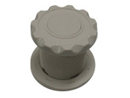 AIR BUTTON: #10 POWER TOUCH, SCALLOP, SILVER - 951020-000