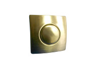 AIR BUTTON TRIM: #20 DESIGNER TOUCH, TRIM KIT, BRUSHED STAINLESS, SQUARE - 951961-000