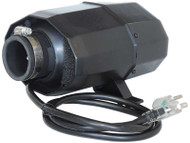 BLOWER: 1.5HP, 120V, 600W HEATER WITH NEMA PLUG, SILENT AIRE - 1-10-0061