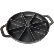 9 INCH CAST IRON CORNBREAD SKILLET - BAC384