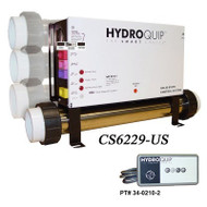 Hydro Quip CS6229 Digital Spa Control , Slide Heater - CS6229-US-F