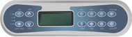 Catalina Spa Control Panel, Cat 800 with Generic Overlay