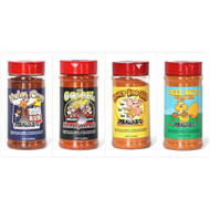 4 Pack The Gospel, Honey Hog, Deez Nuts, Holy Cow BBQ Meat Church BBQ Rub