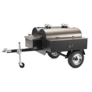 Traeger Double Commercial Smoker / BBQ with Trailer - COM190