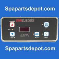 SPA BUILDERS TOPSIDE: LX-15 5BTN 6' ALPHA REV 5.31