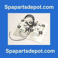 AIR PUMP ASSEMBLY: DUAL (APOLLO) 6-05-0045