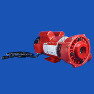 Coast Spas Monster Flow 7HP 230V 2 sp 5' ft JJ Mini-Exec Red Wet End - 3722720-5397